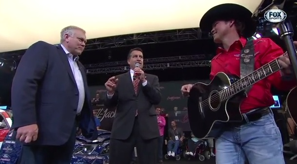 Clay Walker Performing at Barrett-Jackson Las Vegas