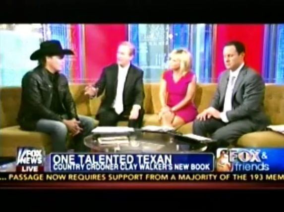 Clay Walker on Fox and Friends